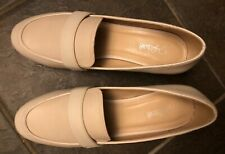 "Jaclyn Smith Womens Shoes ""Annisa"" Light Beige Size 7, 1 3/4"" heel NEW"
