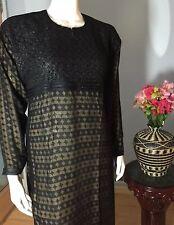 Dubai Fancy Khaleeji Abaya Muslim Jilbab With Hijab And Lace Size XL 60