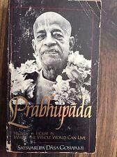 Prabhupada by Satsvarupa Das Goswami (1983, Paperback) store#2265B