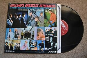 England's Hitmakers Stones Zombies Them Bachelors Rock shrink Record lp NM