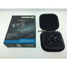 SENNHEISER - M2 IEi Momentum In Ear Ear Buds - Black Chrome Factory Box
