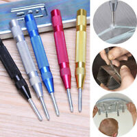 Hole Screw Automatic Spring Loaded Center Punch Dent Marker Metal Wood Press ~