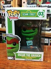 Pop TV Sesame Street Oscar the Grouch 03 Funko Pop Vinyl EXPERT PACKAGING