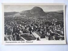 Ansichtskarte Flugzeugaufnahme von Singen-Hohentwiel 1949