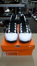 New Nike Hyperize TB 367181-111 White-black Men's Size 8 Basketball Shoes