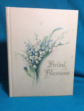 Wonderful Antique Bridal Guest Book June 2nd 1946 Edward Lauer Florence Brown
