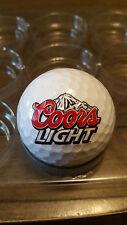 COORS LIGHT BEER PLATINUM TOUR LOGO GOLF BALL