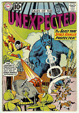 TALES OF THE UNEXPECTED #67 (DC 1961, fn+ 6.5) guide value: $52.00 (£34.00)