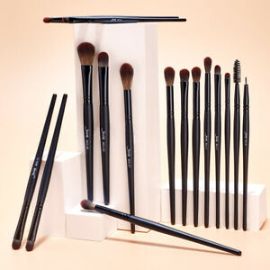 Jessup Makeup Brushes Set Eyeshadow Brow Lip  Eyebrow Concealer Blending Brush