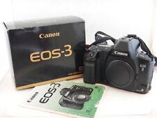 Canon EOS 3 35mm SLR Film Camera Body Excellent Condition + Scatola BOX
