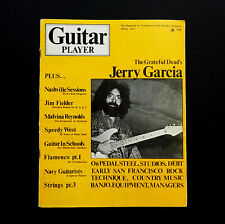 Grateful Dead Guitar Player Magazine 1971 Jerry Garcia Cover Photo April '71 JGB