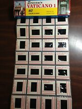 VATICAN CITY Vintage Set of 60 Kodak color slides in sleeve