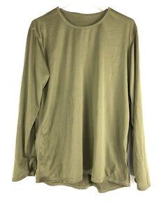 Multicam Gen III Power Dry Undershirt, ECWCS L1 Silk Weight Base Layer Shirt Top