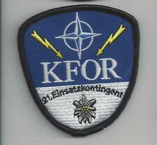 PATCH NATO 21 EINSATZKONTINGENT KFOR                                     JP