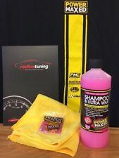 Power Maxed Shampoo & Ultra Wax 1 litre + Free Micro fibre,Shampoo & Ultra Wax