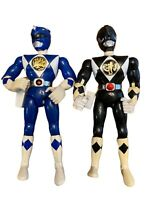 Vintage Power Rangers Black 94 Blue 95 Bandai Toy Action Figures Mighty Morphin