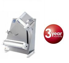 """PIZZA DOUGH ROLLER SHEETER WITH 2 PAIRS OF ROLLERS DOUGH DIAMETER 16"""""""