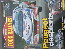 MAGAZINE TODO RALLYES  N°93 RALLY WRC ITALIE CITROEN LOEB ANNEE 2008 98 PAGES