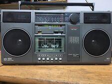 RFT SKR 551 DDR Radio Kassettenrecorder Anthrazit generalüberholt Top Zustand