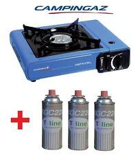 MARCA CAMPINGAZ Fornello da Campeggio a Gas con 3 Bombolette Catering Portatile
