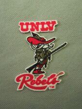 UNLV University of Nevada Las Vegas Rebels Mascot Lextra Patch Quantity of 2