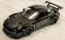 Kinsmart - 1:36 Scale Model Porsche 911 GT2 RS Black (BBKT5408DBK)
