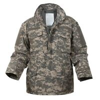 Genuine US Military Issue M-65 Field Jacket, ACU (UCP), Golden Manufacturing