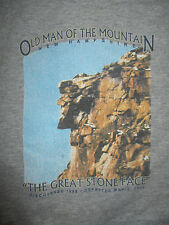"""OLD MAN OF THE MOUNTAIN """"THAT GREAT STONE FACE"""" Departed 5-3-03 (SM) T-Shirt"""