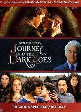 Journey Into The Dark Ages+Pilastri della Terra+Mondo Senza Fine-Cof. 7 Blu Ray