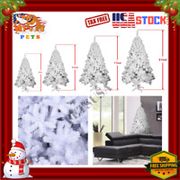 Artificial Christmas Tree - White Snow Flocked 5/6/7/8 ft/Foot Arbol De Navidad