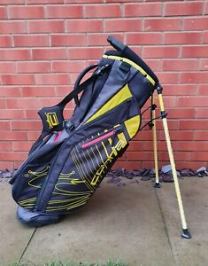 2020 Cobra Ultralight Golf Stand Bag 5-WAY Black/Yellow, A1 Condition 2KG