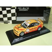 BMW 320 i E46 PRODUCTION MEISTERSCHAFT 2004 Champion HURTGEN MINICHAMPS 1:43 1er