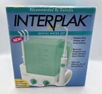 Conair Interplak Dental Water Jet System (Model WJ6) with 4 Tips! Brand New