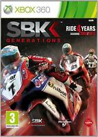 SBK Generations - DISC ONLY (Xbox 360 Game) *VERY GOOD CONDITION*