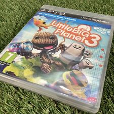 PS3 Little Big Planet 3 - UK Pal - Mint Condition - Kids Game - Move Features