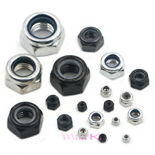Stainless Hex Nut Steel Dome Threaded Hexagon Screw Nylon Nylock Self-Locking