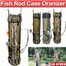 Fishing Rod Pole Reel Tackle Accessories Storage Shoulder Carry Organizer Bag US