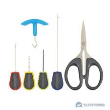 Kong fishing carp tool kit, carpas set tijeras boilie aguja perforador Knot tester