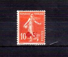 FRANCE 1914 Red Cross surcharge MLH