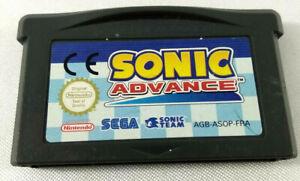 Jeu Game Boy Advance GBA en loose  Sonic Advance  FRA  Envoi rapide et suivi