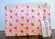 NWT CATH KIDSTON SHABBY CHIC PINK ROSE  POUCH BAG CASE