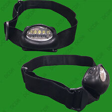 5 LED Bright Head Lamp Torch, Camping Fishing Hiking Bike Work Flashlight