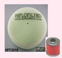 Air filter & Oil Filter to fit KAWASAKI KLX  KLX250 2006 to 2007