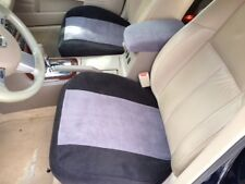 Bottom Seat Cover for Bucket Seats -Price is for a PAIR  2Tone BLK Trim GRY Pnl