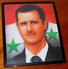 Bashar al Assad President of Syria flag mouse mat pad