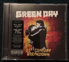 Green Day 21st Century Breakdown CD album plastic case 20 songs rock music