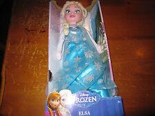 NEW Disney Frozen Elsa Large Plush 14 Inch Doll