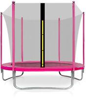 Trampolin 180cm 6ft AGA SPORT FIT Gartentrampolin Komplettset Netz