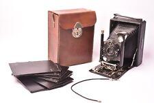 Camera folding with lens Meyer Anastigmat Double f/6.8 - 135mm
