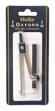 Helix Oxford Metal Compass Pencil Safety Point Maths Geometry School Stationery